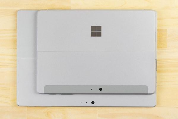 Surface Go と Surface Proの大きさ比較