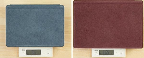 Surface GoとSurface Proの比較 タイプカバー込みの重さ