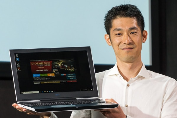 Dell G3 15 本体のサイズ感