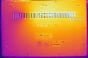 底面の温度