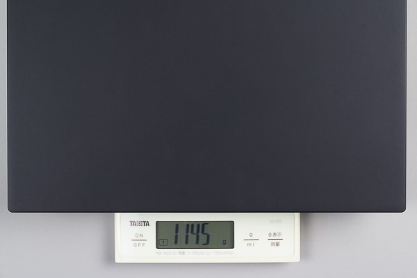 ThinkPad X280 重量の実測