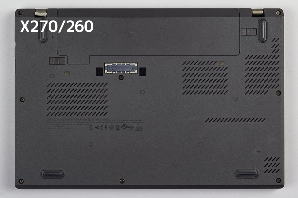 ThinkPad X280 X260との違い