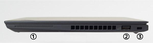 ThinkPad X280 右側面