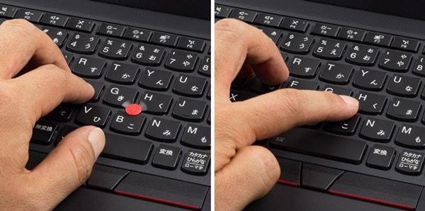ThinkPad X280 トラックポイント