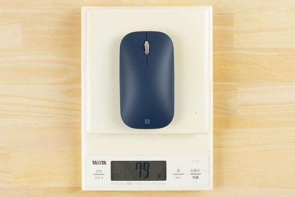 Surfaceモバイルマウス 重さ