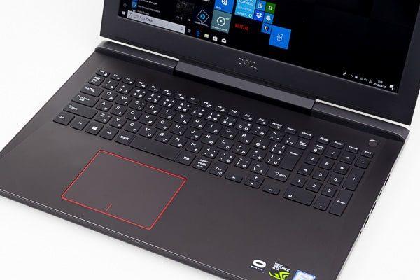 Dell G5 15 キーボード面