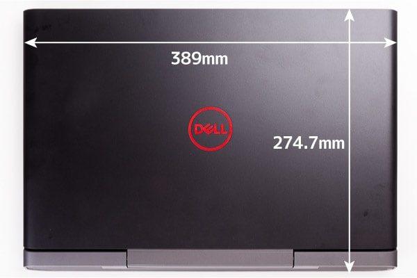 Dell G5 15 フットプリント