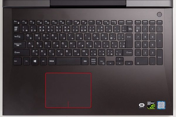 Dell G5 15 キーボード