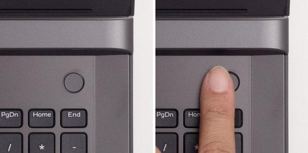 Dell G5 15 電源ボタン