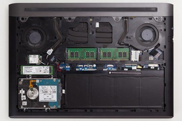 Dell G5 15 本体内部