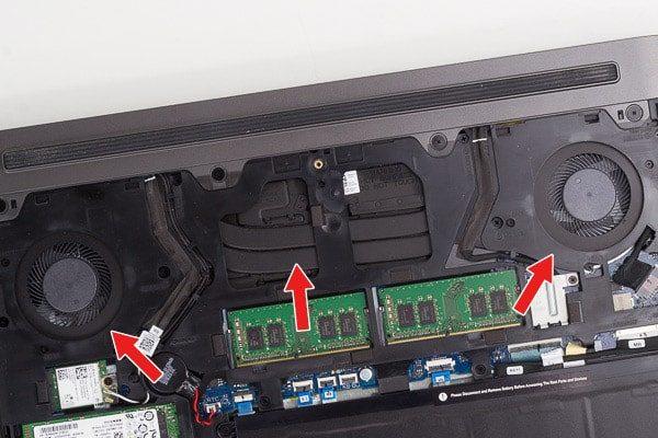 Dell G5 15 冷却機能