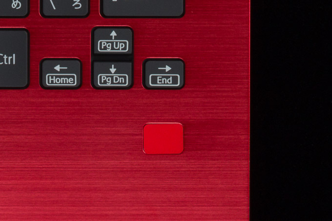 VAIO S11   RED EDITION 指紋センサー