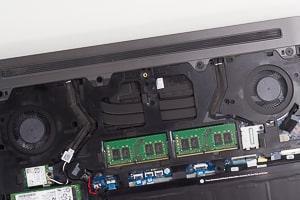 Dell G5 15 特徴 デュアルファン搭載で熱対策もOK