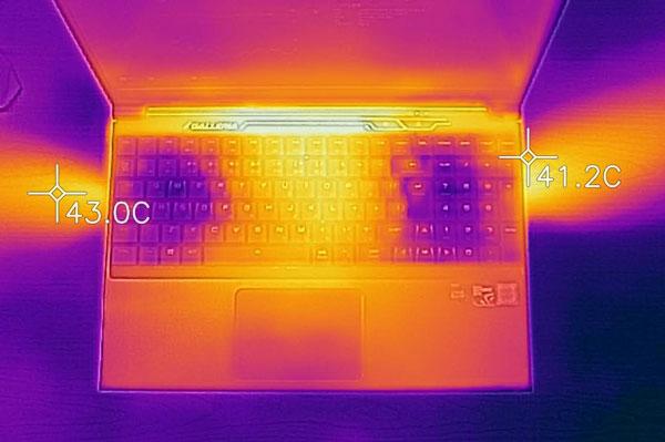 GALLERIA GCF1050TGF-E 排気