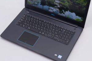 Dell G3 17 キーボード面のデザイン