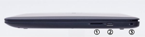 Dell G3 17 右側面
