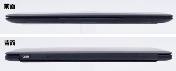 Dell G3 17 厚さ