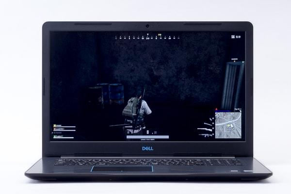 Dell G3 17 暗部の見え方