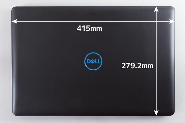 Dell G3 17 本体サイズ