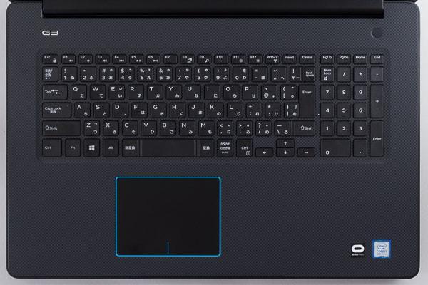 Dell G3 17 キーボード
