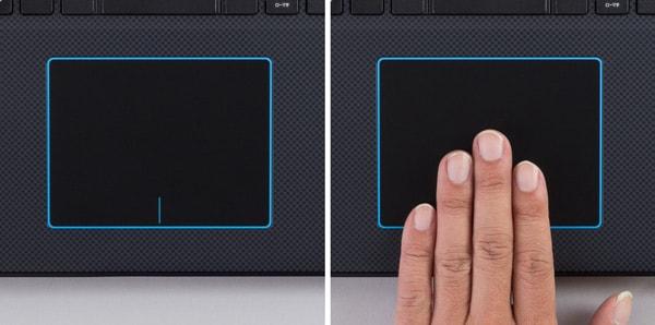 Dell G3 17 タッチパッド