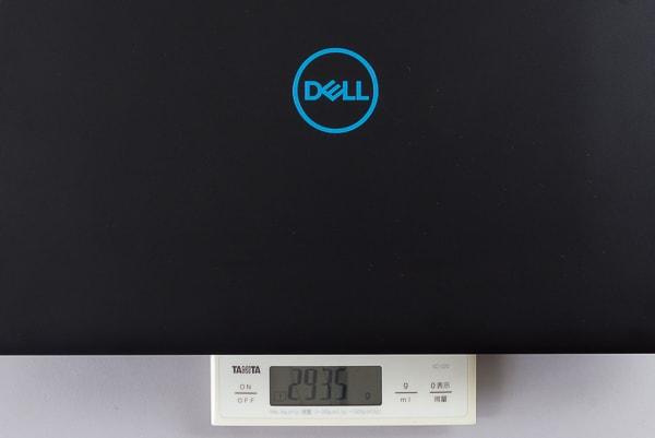 Dell G3 17 重量