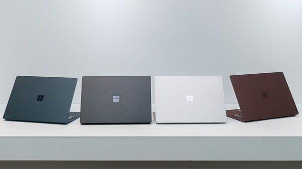 Surface Laptop 2の本体カラー