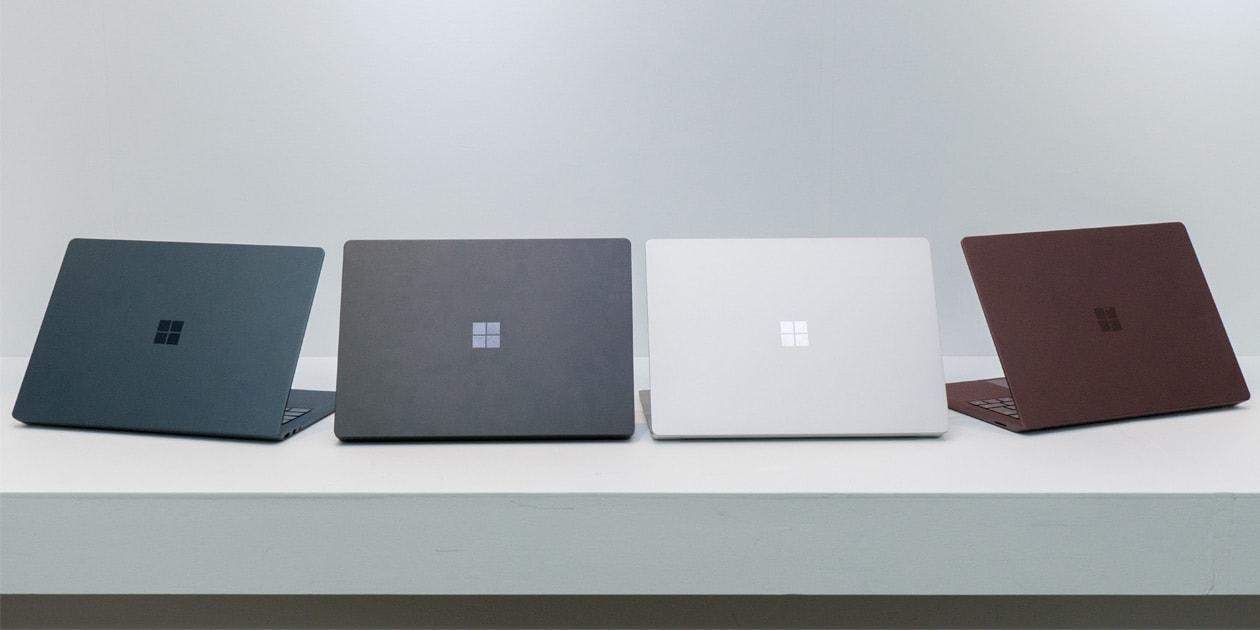 Surface Laptop 2 ブラックモデル 展示機レビュー