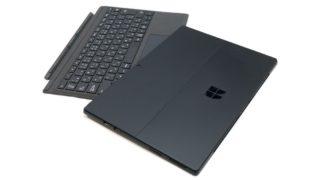 Surface Pro 6 展示機レビュー:ブラックモデルの重厚感がスゴイ!