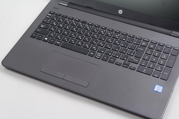 HP 250 G6 キーボード面のデザイン