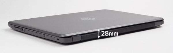 HP 250 G6 厚さ