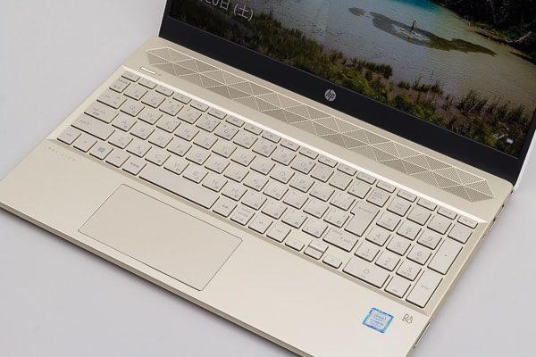 HP Pavilion 15-cs0000 キーボード面