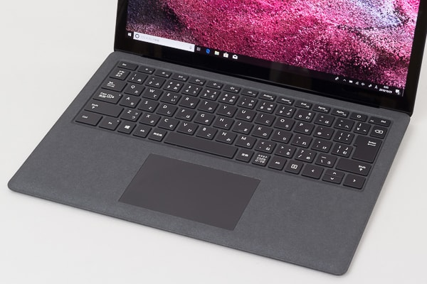 Surface Laptop 2 キーボード面