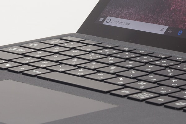 Surface Laptop 2 タイプ音