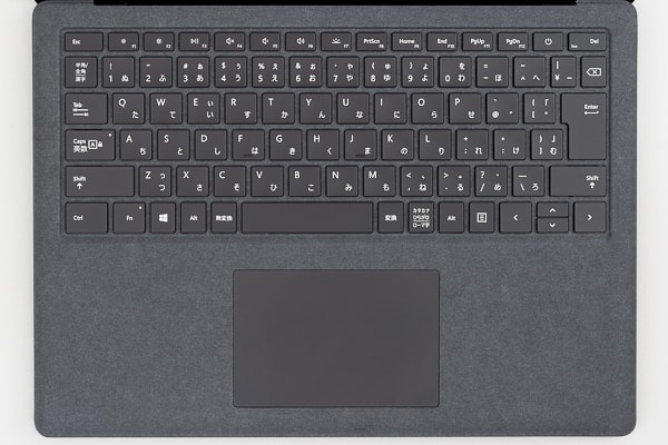 Surface Laptop 2 キーボード