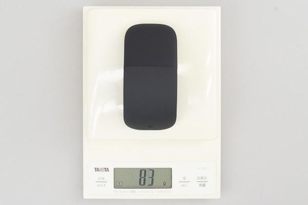 Surface Arc マウス 重さ