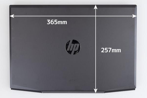 HP Pavilion Gaming 15 大きさ