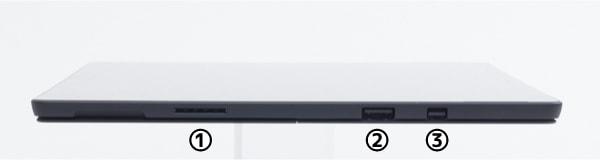 Surface Pro 6 右側面