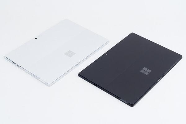 Surface Pro 6 新モデルと前モデル