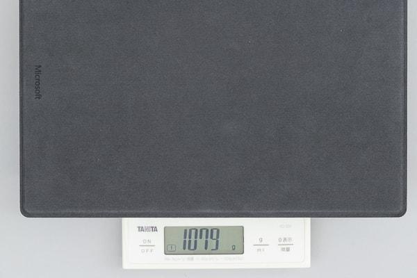 Surface Pro 6 重さ