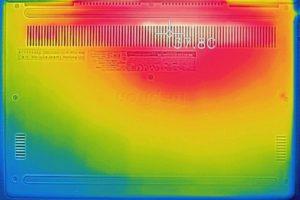 底面部の温度