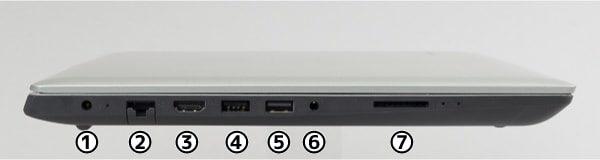 Ideapad 330(14) 左側面