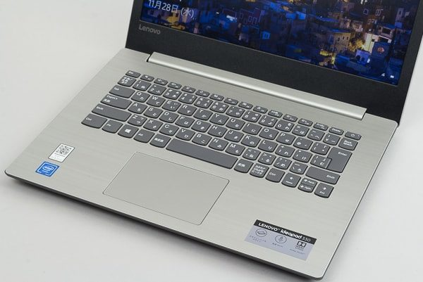 Ideapad 330(14) キーボード面