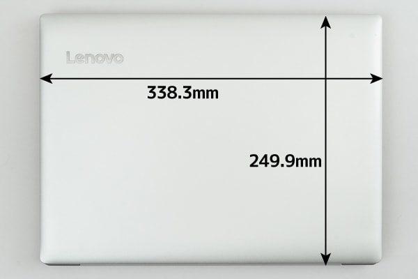 Ideapad 330(14) 本体サイズ