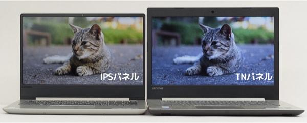 IPSパネルとTNパネルの違い