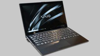 VAIO A12 展示機レビュー:約1kgでノートPCとしてもしっかり使える2-in-1