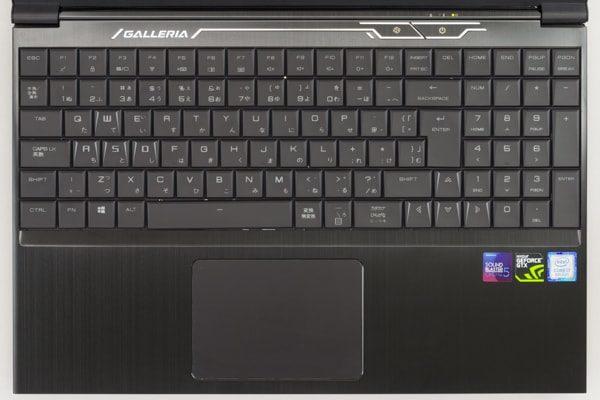GALLERIA-GCF1060GF-E キーボード