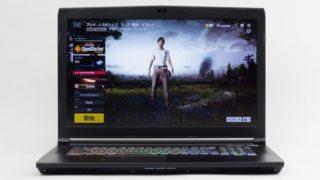 ドスパラ GALLERIA GCF1070NF レビュー:120Hz対応&GTX1070搭載の大画面ゲーミングノートPC