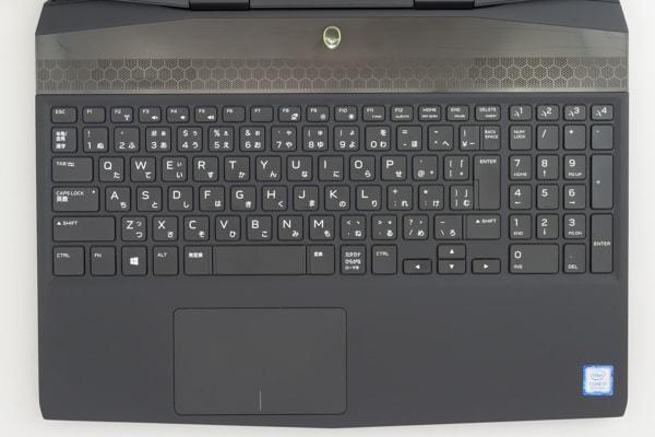 Alienware M15 キーボード