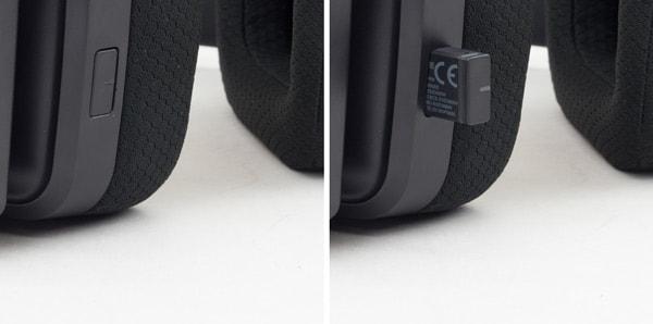 AW988 USBドングルの収納